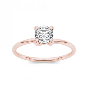 Rose Gold 3/4ct TDW Diamond Classic Engagement Ring - Handcrafted By Name My Rings™