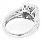 White Gold 1 1/3ct TDW Diamond Designer Engagement Ring - Handcrafted By Name My Rings™