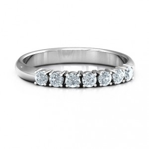 Personalised Band of Eternity Ring - Handcrafted By Name My Rings™