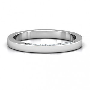 Personalised Enchanted Band Ring - Handcrafted By Name My Rings™