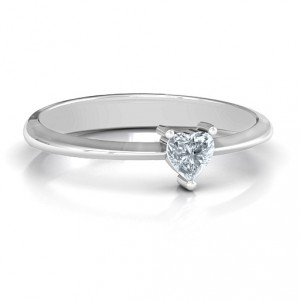Personalised From the Heart Ring - Handcrafted By Name My Rings™