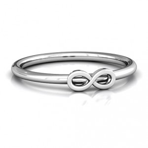 Personalised Infinity Stackr Ring - Handcrafted By Name My Rings™