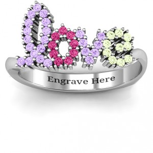 Personalised Love Spell Ring - Handcrafted By Name My Rings™