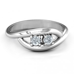 Personalised Perfect Pair Couple's Ring - Handcrafted By Name My Rings™