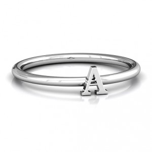 Personalised Stackr AZ Ring - Handcrafted By Name My Rings™
