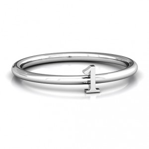 Personalised Stackr Number Ring - Handcrafted By Name My Rings™