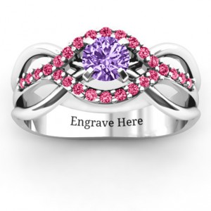 Personalised Fancy Woven Ring - Handcrafted By Name My Rings™
