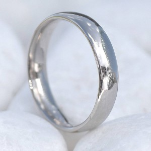 Personalised Wedding Ring, 4mm Comfort Fit - Handcrafted By Name My Rings™