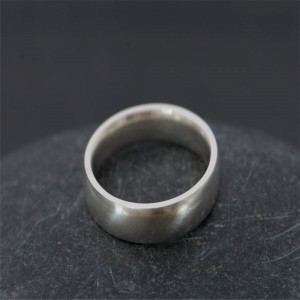 Personalised Mans Wedding Band - Handcrafted By Name My Rings™