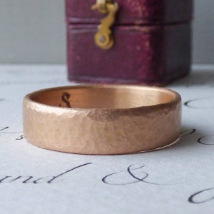 Personalised Mars Mens Fairtrade Wedding Ring - Handcrafted By Name My Rings™