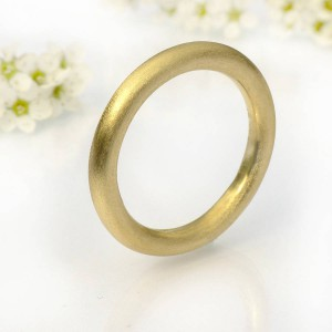 Personalised Mens Halo Wedding Ring, Or Platinum - Handcrafted By Name My Rings™