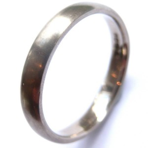 Personalised Mens Wedding Ring - Handcrafted By Name My Rings™