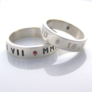 Personalised Personalised Ring For Couple - Handcrafted By Name My Rings™