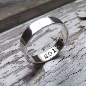 Personalised Personalised Ring - Handcrafted By Name My Rings™